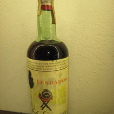 Brandy, FUNDADOR, pedro domecq, Jerez, l. 1 gr 40 ani 1940/1950 - Cognac