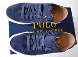 Adidasi Ralph Lauren din piele ,barbati, 100% AUTENTICI, 42.5, Albastru