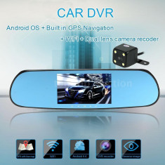 Oglinda auto DVR - GPS - Android - Pachete car audio auto