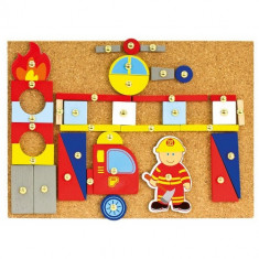 Set Lucru Manual - Pompierii - Jocuri arta si creatie Bino