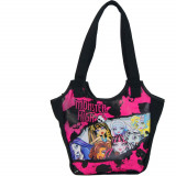 Gentuta fetite, Monster High, neagra - Ghiozdan
