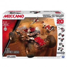Jucarie Meccano Desert Adventure Model Set 20 Piece - Set de constructie