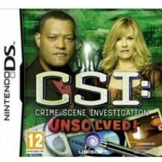 Csi Fatal Conspiracy Nintendo Ds - Jocuri Nintendo DS Ubisoft
