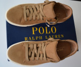 Adidasi Ralph Lauren  , din piele,  Originali, noi in cutie, 43, Ralph Lauren