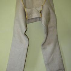 Pantaloni taranesti traditionali din postav, cioareci, itari - port popular - Pantaloni barbati, Marime: 26, Culoare: Alb, XL, Lungi, Lana