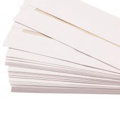 Set 50 de plicuri Free Spirit, 11.5 X 16 cm, 75 g/mp, banda autoadeziva, albe - Plic Papetarie