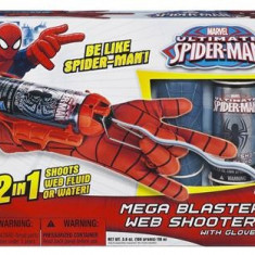 Jucarie Spiderman Mega Blast Web Shooter - Vehicul Hasbro