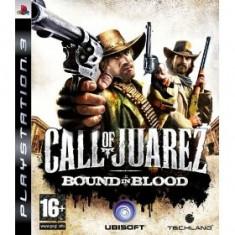 Call Of Juarez Bound In Blood Ps3 - Jocuri PS3 Ubisoft