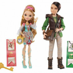 Ever After High Set papusi Ashlynn si Hunter - OKAZIE - Papusa Mattel, 8-10 ani, Plastic, Fata