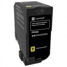 Cartus toner Lexmark 74C2SY0, yellow, 7 k