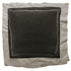 Fata de perna decorativa gri/alb Tropica Home Style, 40 x 40 cm, 6900GY/WH