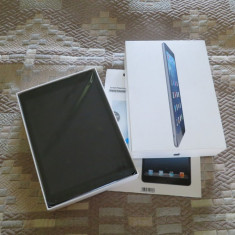 IPad Air Wi-Fi 16Gb cu acesorii si cutie originale, folie, husa, factura iStyle - Tableta iPad Air Apple, Argintiu