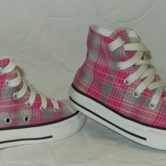 Tenisi copii CONVERSE ALL STAR - nr 27 - Ghete copii Converse, Culoare: Din imagine, Fete, Roz