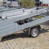 Remorci/Remorca/Platforma 3.5 m x 2 m, dublu ax, sarcina maxima 1500 kg - Utilitare auto