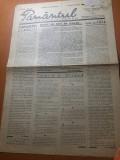 """Ziarul pamantul 25 septembrie 1935- poezia """"octombrie pe chei """" de radu gyr"""
