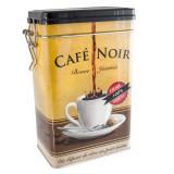 Cutie metalica pentru cafea Cafea Noir, capac, 20 X 12 X 8 cm, maro, design grafic, 42664 - Caserola