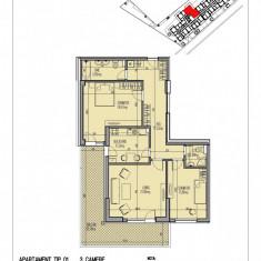 Apartament 3 camere extra spatios Lux Mihai Bravu - Apartament de vanzare, 115 mp, Numar camere: 3, An constructie: 2018, Etajul 2