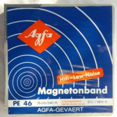 Set 4 benzi magnetofon agfa noi