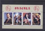 ROMANIA 2004  LP 1640  DRACULA BLOC DANTELAT  MNH