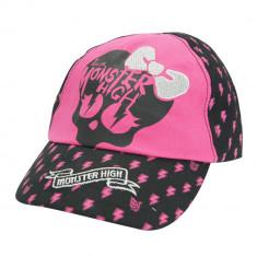 Sapca pentru fetite, Monster High, negru - roz - Sapca Copii