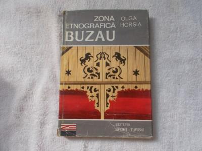 Zona etnografica Buzau - Olga Horsia foto