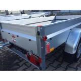 Remorci/Remorca 2.1 m x 1, 08 m, sarcina maxima 750 kg, sistem de franare - Utilitare auto
