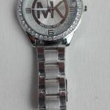 Ceas replica MK Michael Kors, model nou, elegant, bratara metalica + CUTIE CADOU - Ceas dama Michael Kors, Quartz
