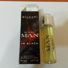 PARFUM 40 ML BVL MAN IN BLACK --SUPER PRET, SUPER CALITATE! - Parfum barbati Bvlgari, Apa de parfum