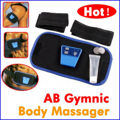Centura AbGymnic Pentru Tonifiere Musculara - Centura masaj