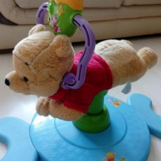 Jucărie multifuncțională, muzicală Winnie Ursuletul Disney