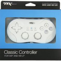 White Classic Controller Ttx Nintendo Wii U