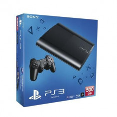 Playstation 3 Super Slim Console 500Gb Ps3 - Consola PlayStation Sony