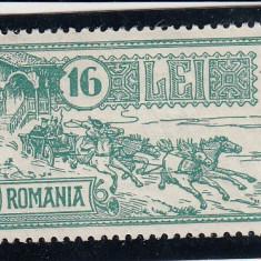 ROMANIA 1932, LP 103, 30 DE ANI PALATUL PTT MNH - Timbre Romania, Nestampilat