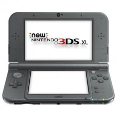 Consola Nintendo New 3Ds Xl Negru Metalic