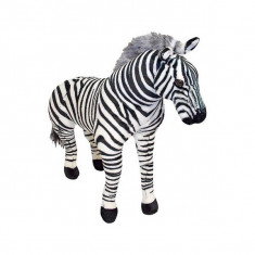 Zebra Gigant Din Plus Melissa And Doug - Jucarii plus Melissa & Doug