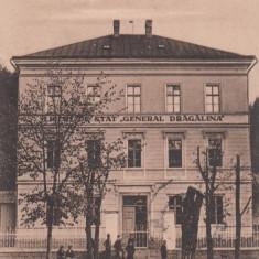 SALUTARE DIN ORAVITA LICEUL DE STAT ''GENERAL DRAGALINA'' CIRC. 1923 - Carte Postala Banat dupa 1918, Circulata, Printata