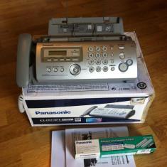 Vand Telefon / Fax Panasonic KX-FP218FX-S, Nefolosit (NOU) .