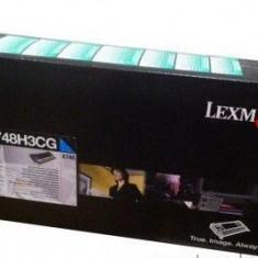 Cartus toner Lexmark X748H3CG, cyan, 10 k