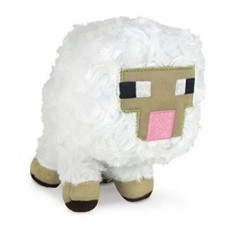 Jucarie Se Plus Minecraft 7-Inch Plush Sheep - Jucarii plus