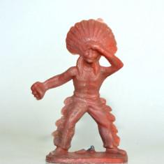 (33)Cowboy si indieni romanesti, perioada comunista, figurina plastic, anii '80