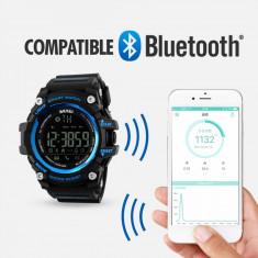 Ceas Bluetooth Skmei, ceas smart sport, Numara pasii, km, calorii, fitness - Bratara Fitbit Flex