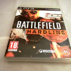 Joc Battlefield Hardline, PS3, original, alte sute de jocuri! - Jocuri PS3 Ea Games, Shooting, 16+, Multiplayer