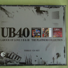 UB 40 - Labour Of Love I, II and II (The Platinum Collection) - 3 C D Originale, CD