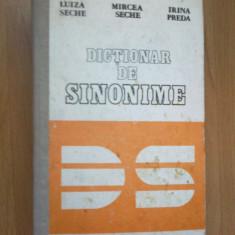 D1 Luiza Seche, Mircea Seche, Irina Preda - Dictionar De Sinonime - Dictionar sinonime