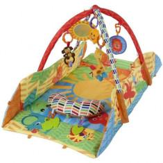 Centru de joaca cu laterale protectoare Sunshine - Sun Baby - Jucarie zornaitoare