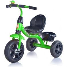 Tricicleta Tobi Basic - Kidz Motion - Verde - Tricicleta copii