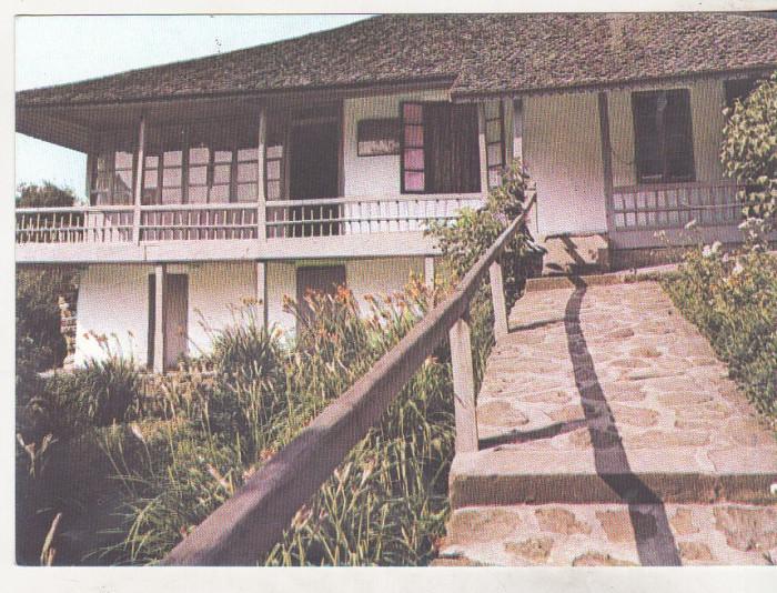bnk cp Agapia - Casa memoriala Al Vlahuta - necirculata foto mare