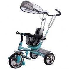 Tricicleta Super Trike - Sun Baby - Turcoaz - Tricicleta copii