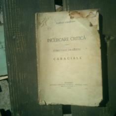 Incercare crituca asupra comicului dramatic la Caragiale - Scarlat Struteanu