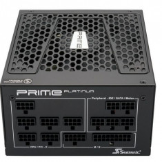 Sursa Seasonic PRIME SSR-850PD Active PFC F3, 90PLUS Platinum, 850W, Full Modulara, Premium Hybrid Fan Control - Sursa PC